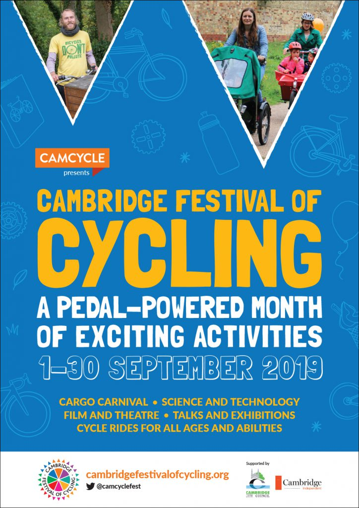Cambridge Festival of Cycling poster