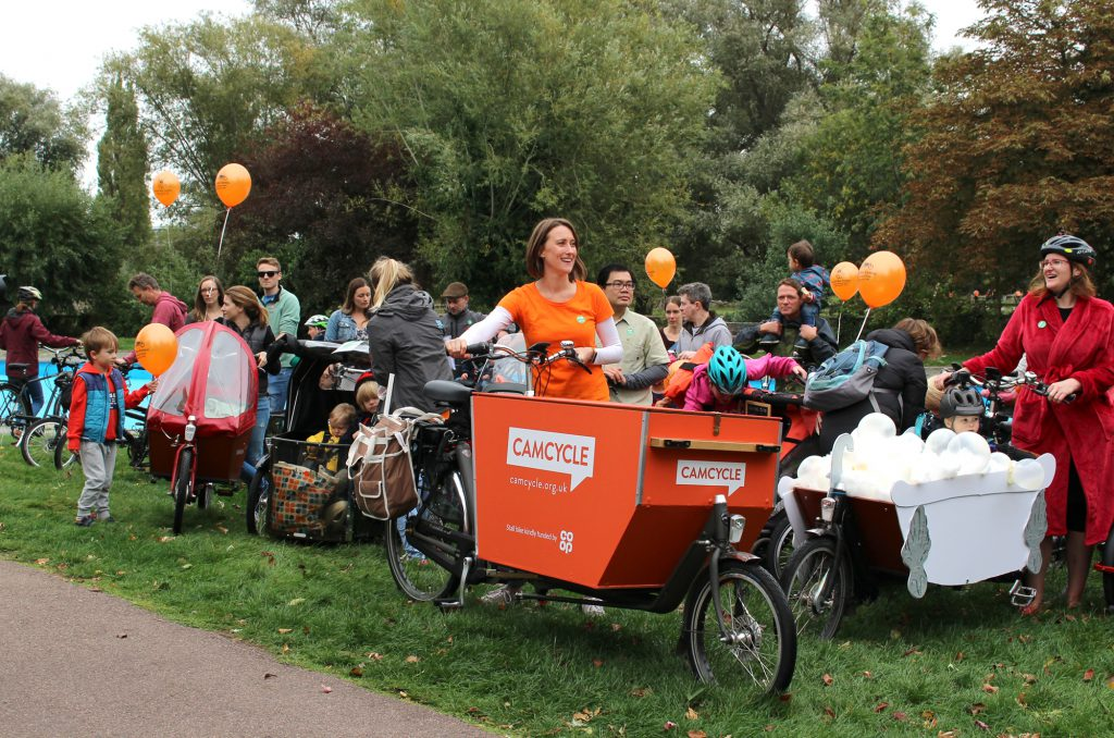Camcycle at the 2018 Cargo Carnival